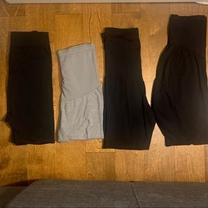 Maternity leggings bundle